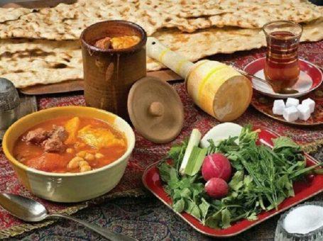 بهترین دیزی سرا در مفتح کافه رستوران سنتی افشار