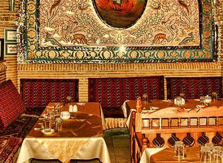 بهترین سفره خانه در تهران -چهارراه گلوبندک|سفره خانه شب های گلوبندک