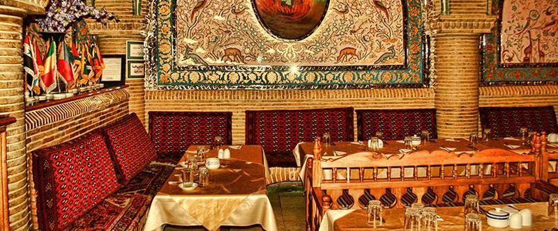 بهترین سفره خانه در تهران - لاله زار نو|سفره خانه آق بابا
