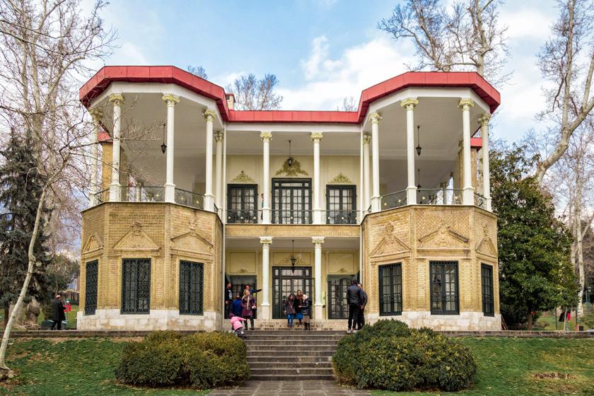 کاخ های تاریخی تهران/ عمارت ها و کاخ های تهران