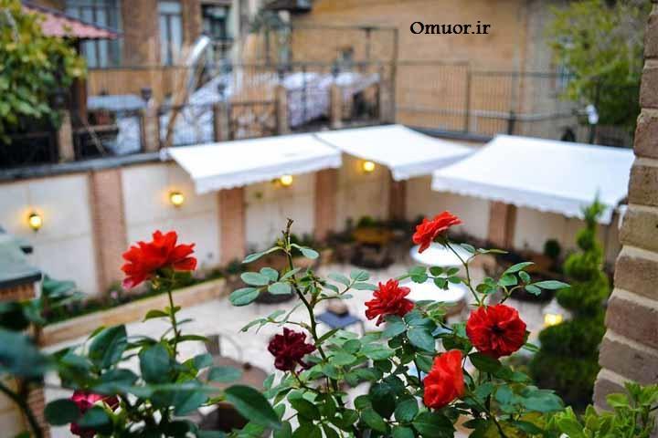 کافه های تهران/معروف ترین کافه های تهران