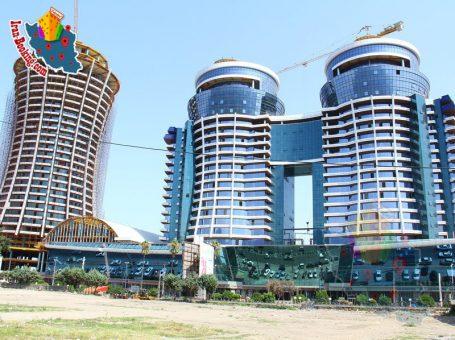 مجتمع تجاری ساحل قو ،سلمان شهر