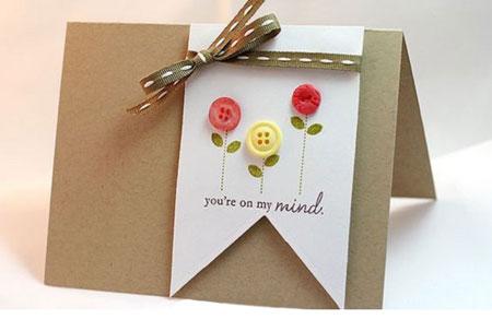 ساخت کارت پستال ساده / آموزش ساخت کارت پستال های زیبا