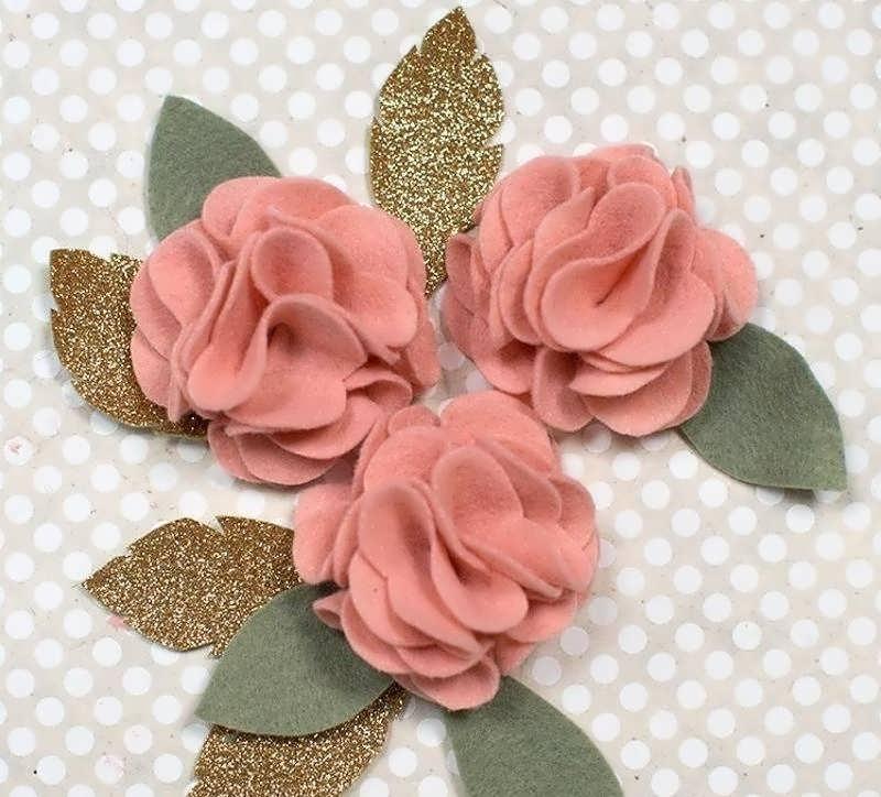 آموزش ساخت گل سر طرح گل با استفاده از پارچه