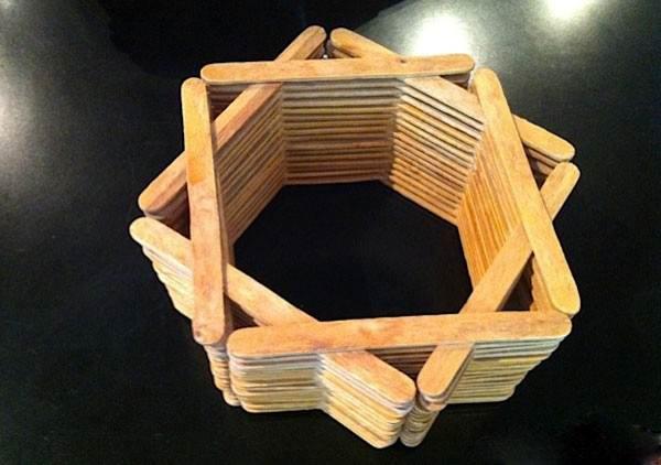 کاردستی با چوب بستنی و سیخ چوبی / ایده های جدید ساخت کاردستی با سیخ چوبی