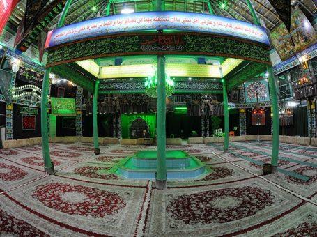حسینیه احمدیه/ حسینیه و تکیه در سه راه امین حضور