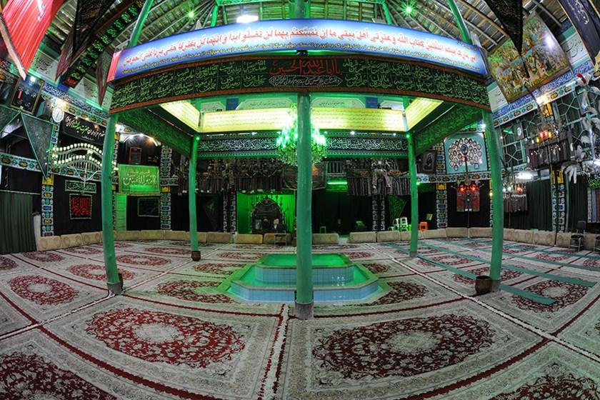 حسینیه مکتب القرآن الزهرا / حسینیه و تکیه در 17 شهریور